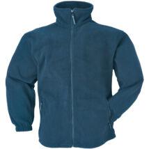 POLÁR CIPZÁROS kék pulóver