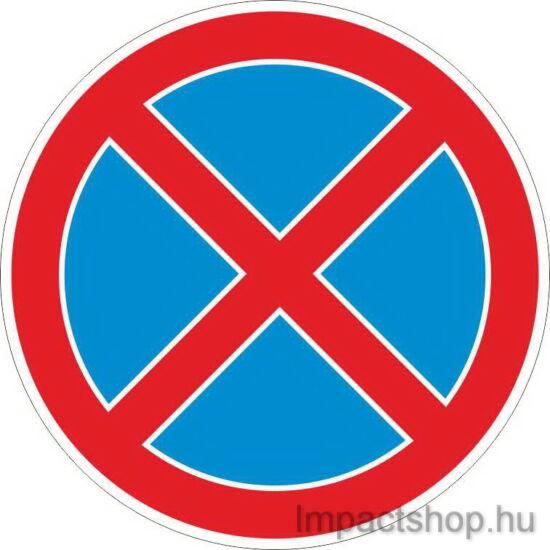 Megállni tilos (200x200 mm matrica)