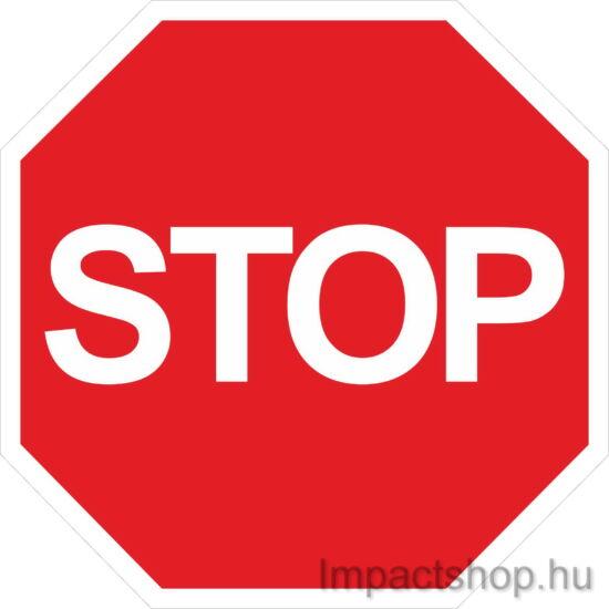 Stop (200x200 mm matrica)