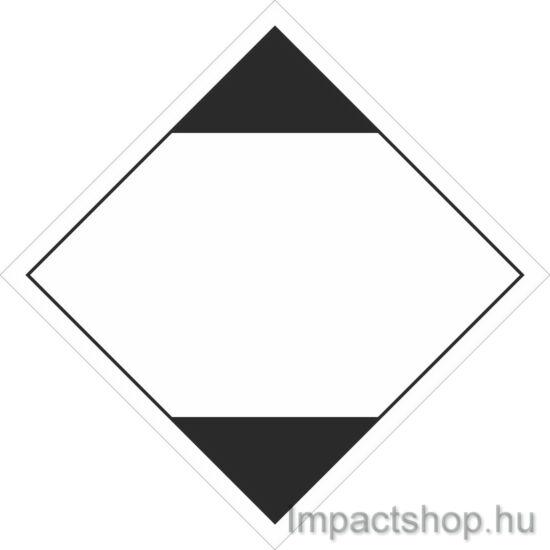 LQ jelölés tájékoztató címke (vízi, szárazföldi) (100x100 mm matrica)