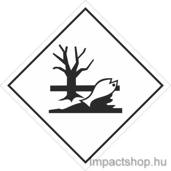 Környezetre veszélyes anyag (300x300 mm matrica)