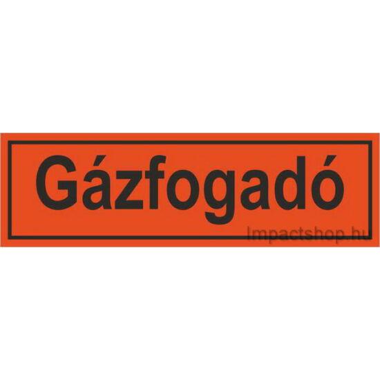 Gázfogadó (200x70 mm matrica)