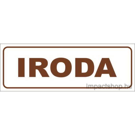 Iroda (200x70 mm matrica)
