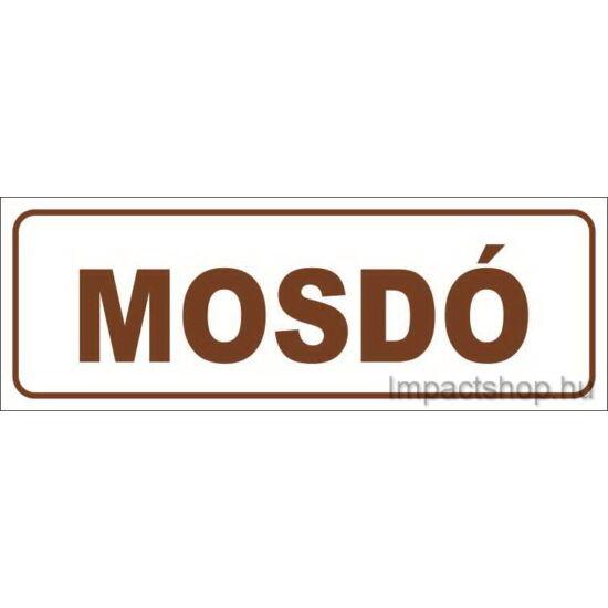 Mosdó (200x70 mm matrica)