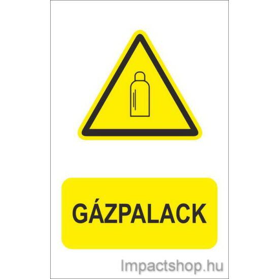Gázpalack (160x250 mm matrica)