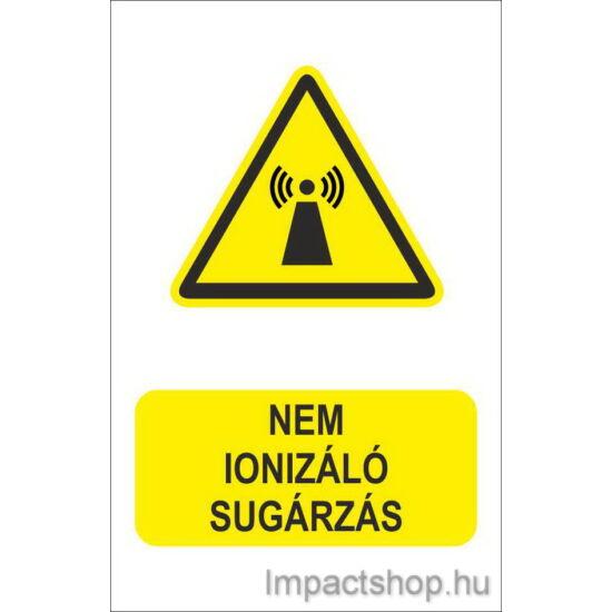 Nem ionizáló sugárzás (160x250 mm matrica)