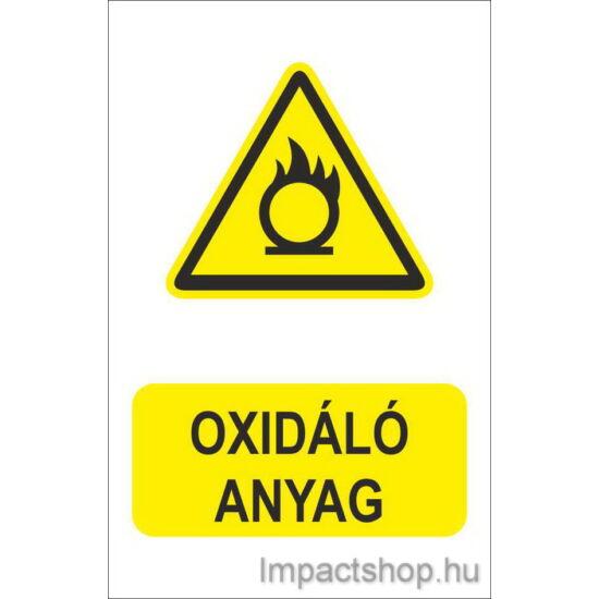 Oxidáló anyag (160x250 mm matrica)