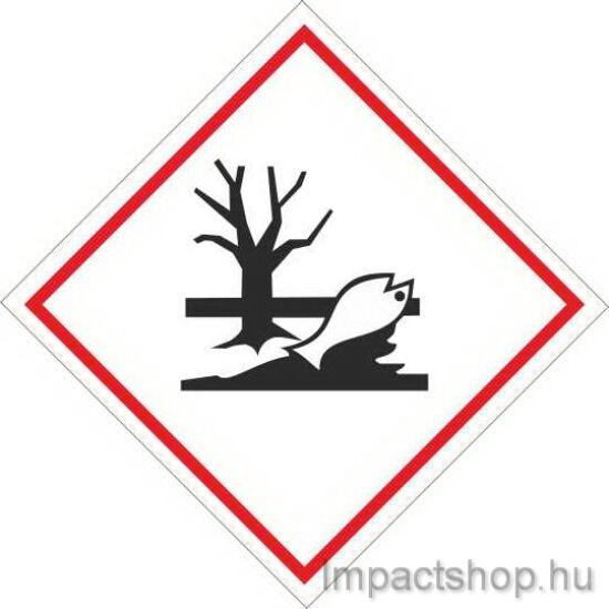 Környezetre veszélyes anyag (100x100 mm tábla)