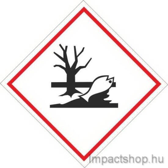 Környezetre veszélyes anyag   (100x100 mm matrica)