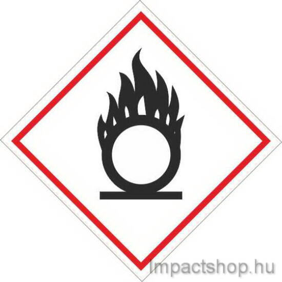Oxidáló   (100x100 mm matrica)