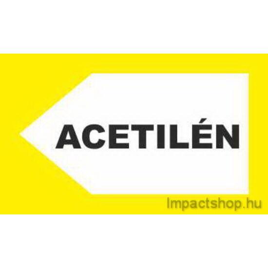 Acetilén (200x100 mm matrica)