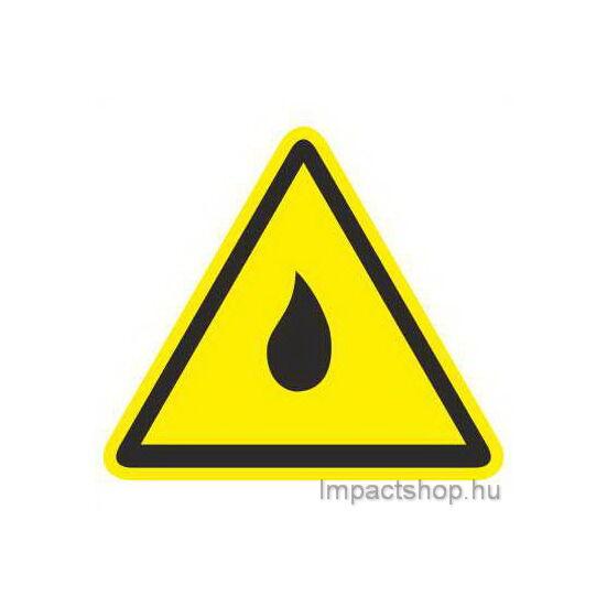 Freccsenő víz ellen védett (100x100 mm matrica)