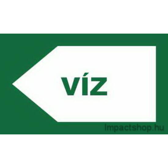 Víz (200x100 mm matrica)