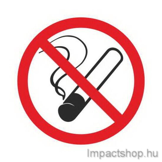 Dohányozni tilos  (110x110 mm matrica)