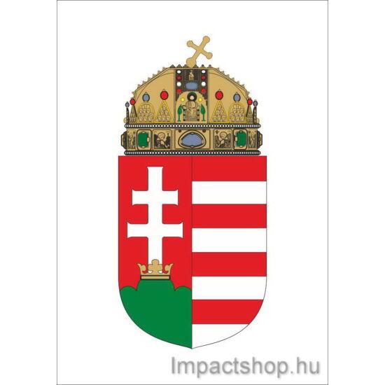 Magyar címer (210x297 mm matrica)