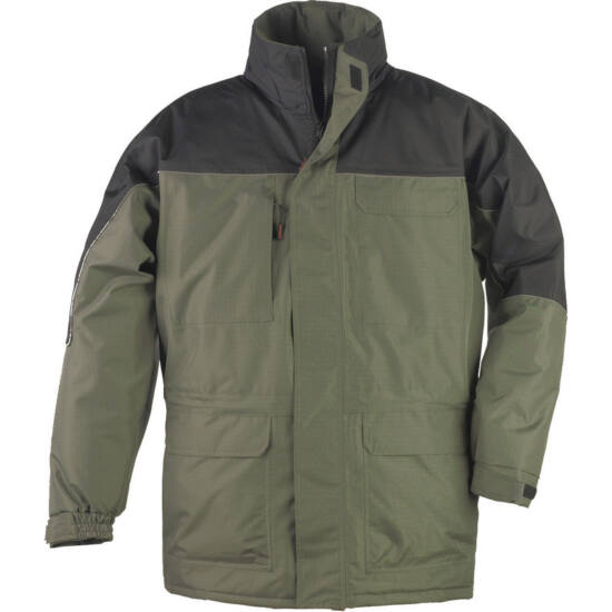 RIPSTOP Green/Black kabát
