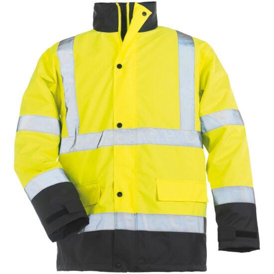 4b72c2fe22 ROADWAY FLUO Yellow bélelt kabát - Kabátok - I M P A C T S H O P