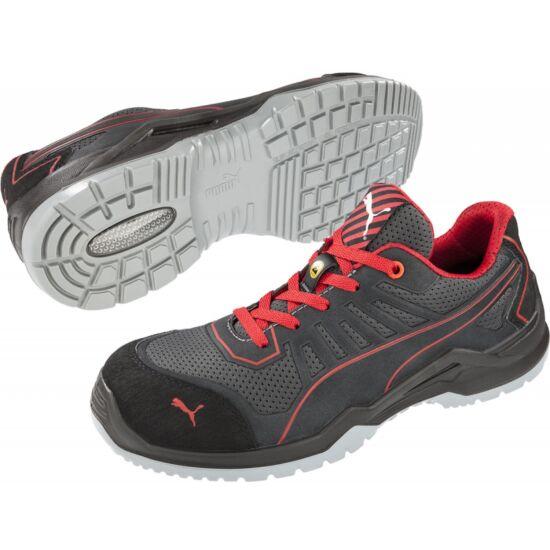 Puma FUSE TECH Red Low S1P ESD SRC cipő