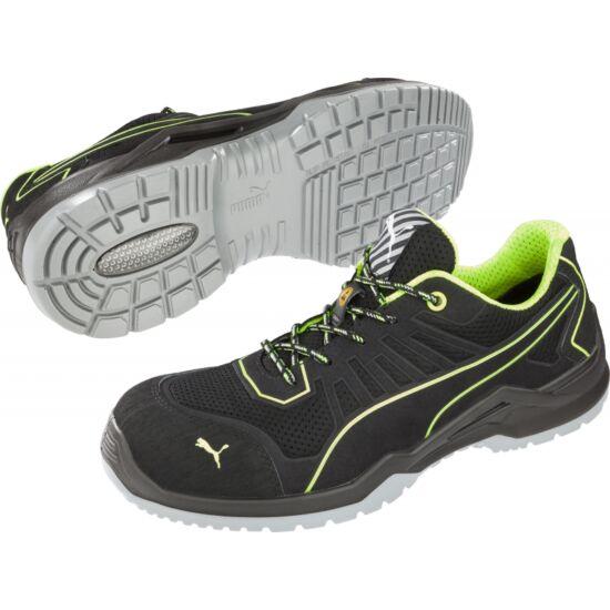 Puma FUSE TECH Green Low S1P ESD SRC cipő