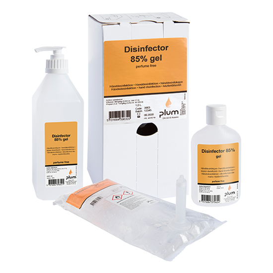 Plum Disinfector 85% higiénés kézfertőtlenítő gél